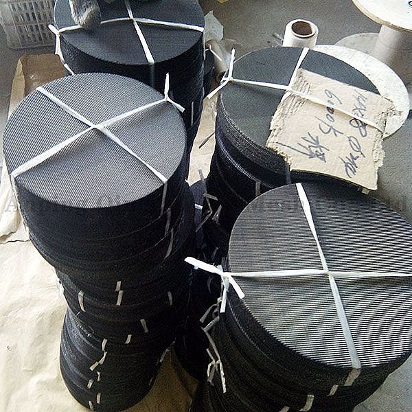 Black Wire Cloth Filter Discs